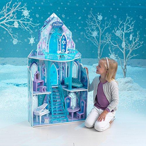 KidKraft 65881 Puppenhaus Disney Frozen Ice Castle, bunt - 5