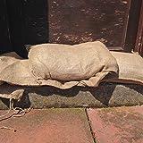 120x YUZET Sacos de Arpillera para bolsas de arena Protección contra inundación inundación
