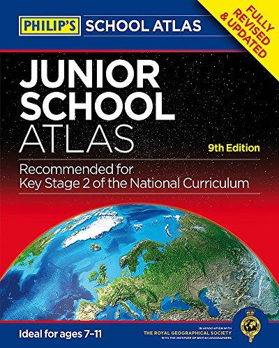 Philip's Junior School Atlas 9th Edition (Philips School Atlas) por Philip's Maps