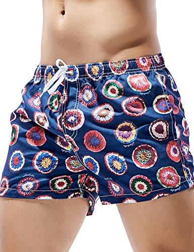 SEOBEAN Herren Badehose Badeshorts Board Shorts Strand Shorts 2916