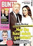 Bunte 16 2017 Boris Becker Melanie Griffith Zeitschrift Magazin Einzelheft Heft