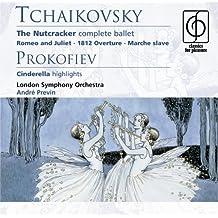Tcahikovsky: Nutcracker Complete; Prokofiev: Cinderella Highlights