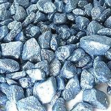 MGS SHOP Dekokies Zierkies Streudeko Dekosteine Nuggets Garten Kies (5kg, Brilliant blau 20-10mm)