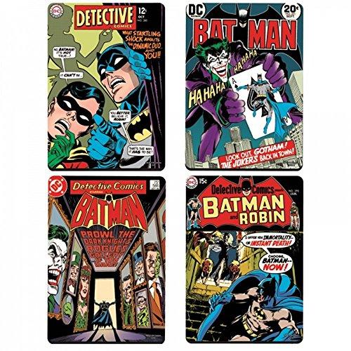 DC Comics-Batman Comic Covers, Set di 4sottobicchieri