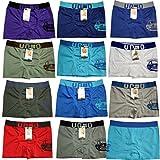 12 Stück Kinder Jungen Boxershorts Unterhosen Kids Unterwäsche Mikrofaser 98 bis 164 - BestSale247