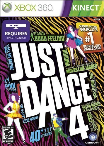 Just Dance 4 PlatformForDisplay: Xbox 360 Model: 52720 (Electronics Consumer Store) by Electronics 4 People (Just Dance 4 Xbox 360)