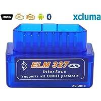 Xcluma Super Mini Elm327 V2.1 Bluetooth Obd2 Obd-Ii Car Auto Diagnostic Scanner Android