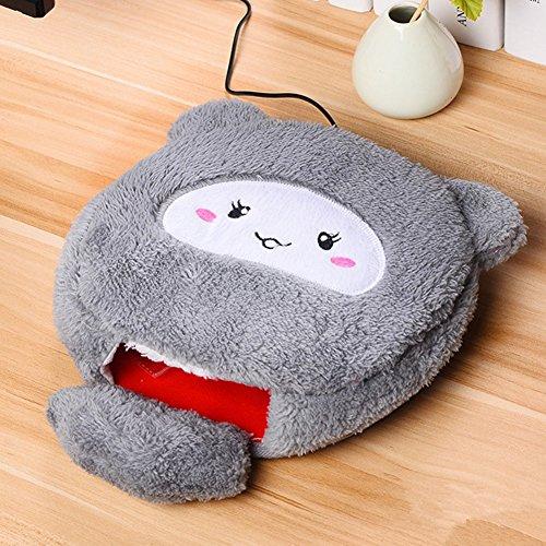 JC Trumps Almohadilla de ratón de Mano USB más Caliente, Almohadilla de ratón de Dibujos Animados cálido y cálido, Almohadilla de ratón Caliente se Puede Lavar a Mano (Miffy Rat)