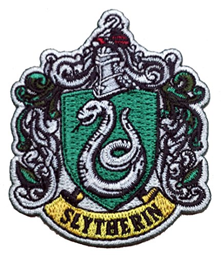 Potters House (Harry Potter House of SLYTHERIN Crest Applique 2.75,inch Patch)