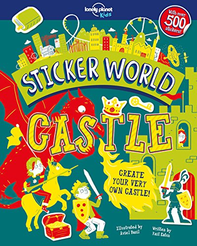 Sticker World Castle Lonely Planet