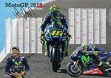 Valentino Rossi Plakat 2018