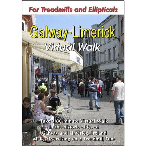 Preisvergleich Produktbild Galway and Limerick Virtual Walk Treadmill Scenery DVD