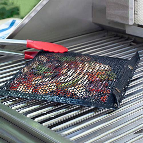 TAOtTAO Antihaft-Grilltasche für hohe Temperaturen New Hot Non-Stick Mesh Grilling Bag Non-Stick BBQ Bake Bag Outdoor Picnic Tool Pyrex-halter