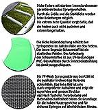Terena Gartentrampolin 183 mit Sicherheitsnetz – neongrün - 4