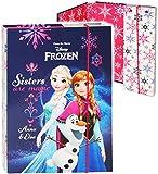 Unbekannt Heftordner / Ordner / Heftbox - A4 -  Disney Frozen - die Eiskönigin  - für Hefte, Zettel und Mappen - Glanz Druck - Gummizugmappe & Heftmappe - Mappe & Box..