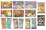 Verschiedene 5 Beutel Kracie Popin 'Cookin' DIY Gummy Süßigkeiten machen Kit SET Takoyaki, Nerune, Ramen, Tsubupyon