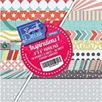 Sweet Dixie Inspirations 1 15,2 x 15,2 cm Paper Pad, carta, multicolore