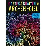 CARTES A GRATTER ARC-EN-CIEL