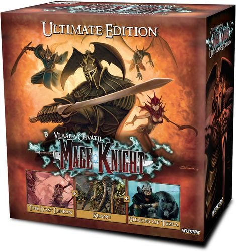 WizKids WZK73455 Mage Knight: Ultimate Edition, Mixed Colours