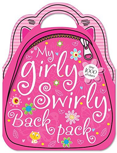 My Girly Swirly Sticker Back Pack
