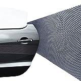 Schutzfolie für Garagenwand, schützt vor Schäden durch die Autotür, selbstklebend, Schaumstoff, Anti-Kratzer-Schutz, wasserfest, 2 Stück in einer Rolle