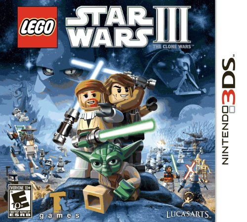 LucasArts  Lego Star Wars III: The Clone Wars, 3DS