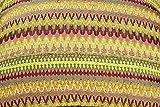 McAlister Textiles - Aztec Kollektion | Überwurf im Geometrischem Curitiba-Muster 130cm x 200cm in Rosa | farbenfrohe Decke für Sofa, Bett, Sessel, Picknick - Ethno-Look