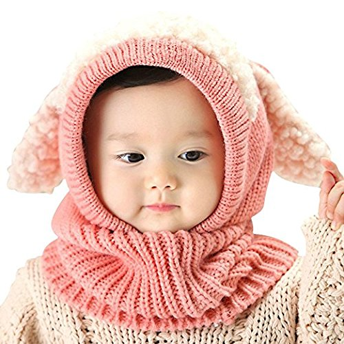baby-girls-boys-toddler-winter-hat-scarf-set-cutest-earflap-hood-warm-knit-hat-scarves-with-ears-sno