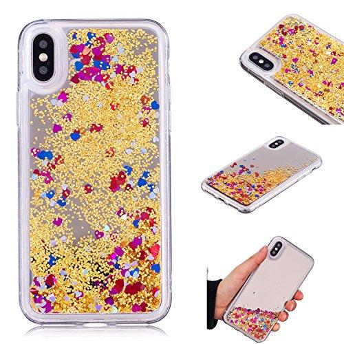 Funyye-Specchio-liquido-Custodia-per-iPhone-X