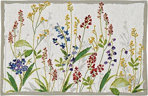 4er-Set Sander Gobelin Tischsets Flower Meadow florales Motiv Blumenwiese