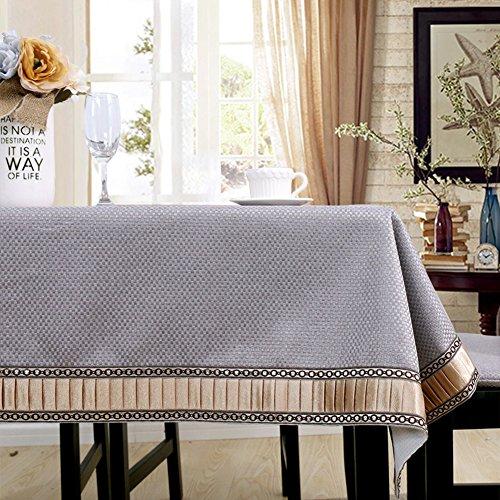 BATSDCB High-Grade Volltonfarbe Tischdecken, Moderne Einfache Bettwäsche aus Baumwolle Mehrere...