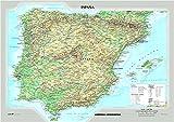 Spagna fisica e politica - Carta Murale