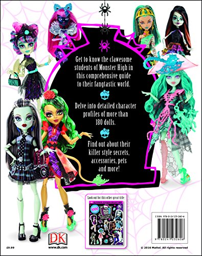 Image of Monster High Character Encyclopedia