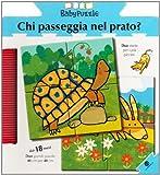 Chi passeggia nel prato? Libro puzzle