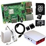 InnoConnect Raspberry Pi 3 Model B+ Bundle mit 16 GB SD-Karte (weiß)