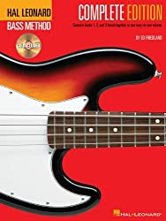 Hal Leonard Bass Method Complete Edition + 3CDs