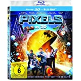 Pixels (3D Version (2 Disc)  )