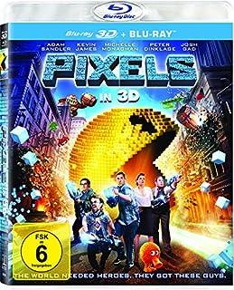 Pixels (3D Version (2 Disc) ) [3D Blu-ray]