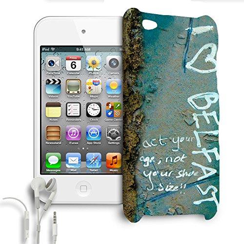 I Heart Belfast Apple iPhone 6Plus 5S 5C 54iPod et plus, plastique, vert, Apple iPhone 5s