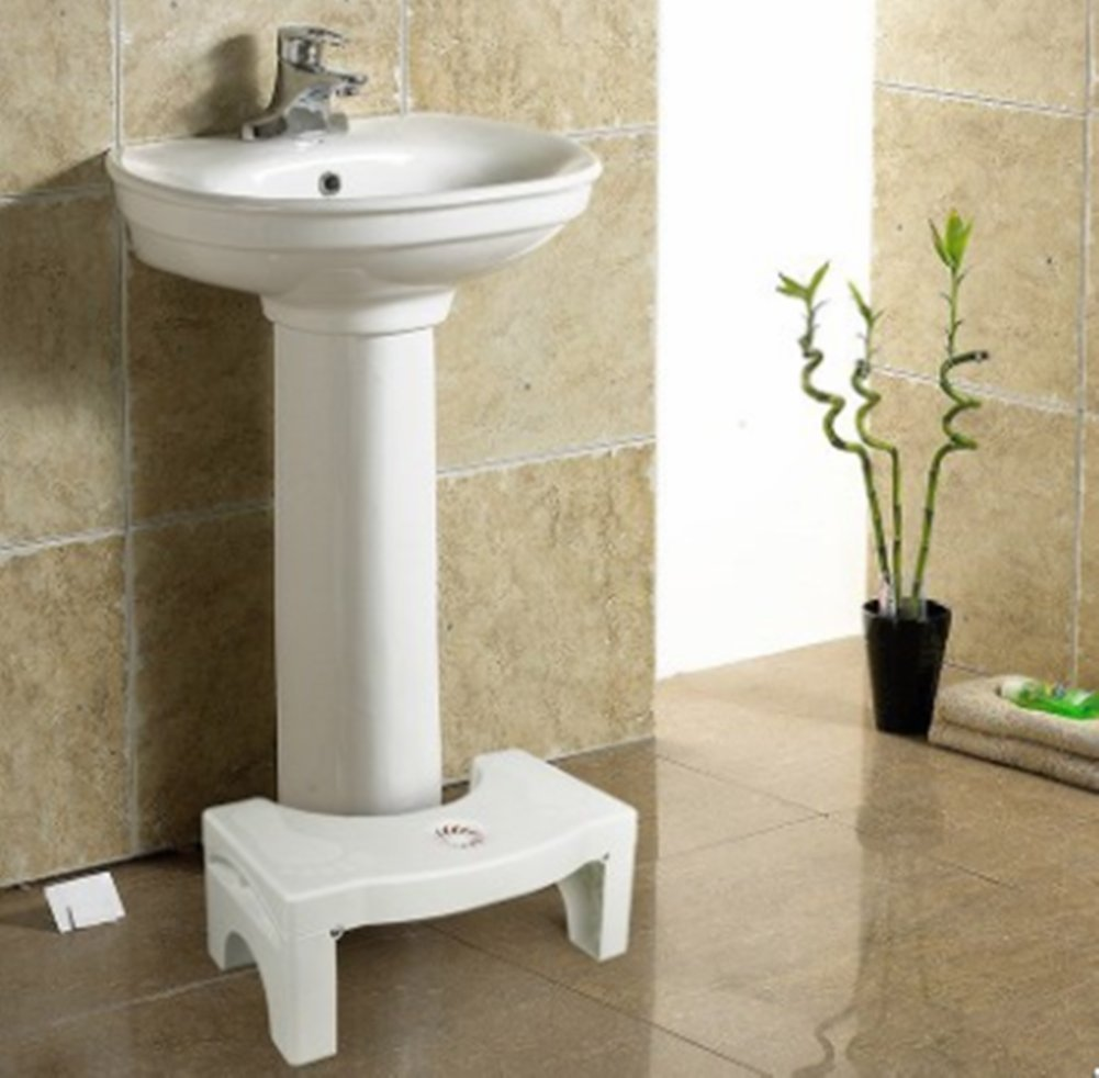 Folding Toilet Stool Stool Toilet Stool Child Booster Stool Toilet Artifact Foot Stool Ddpp Toilet seat foot stool Folding design Built-in spice box Replacement at any time Silicone feet Stable non-slip Massage soles Applicable to elderly people, children, pregnant women, people with constipation. Solid silicone mats never fall off 5