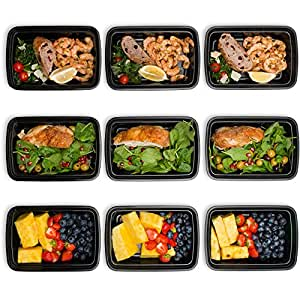 bento lunch box set meal prep food storage restaurant containers plastic foodsaver 9pk. Black Bedroom Furniture Sets. Home Design Ideas