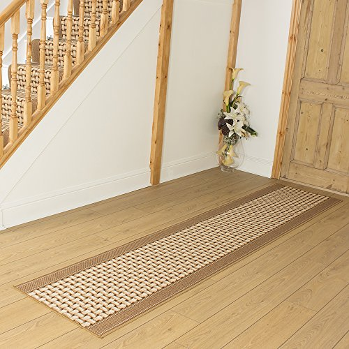 Lapulga Beige - Long Hall & Stair Carpet Runner