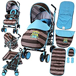 iSafe Stroller - iDiD iT Design Complete with Footmuff Headhugger, Raincover, Bumper Bar   10