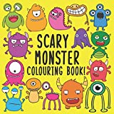 Best Books Three Year Olds - Scary Monster Colouring Book!: A Fun Colouring Activity Review