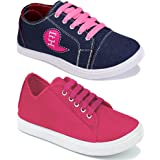 Shoefly Women Multicolour Latest Collection Sneakers Shoes- Pack of 2 (Combo-(2)-11029-5004)