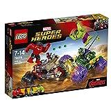 LEGO Marvel Super Heroes 76078 - Hulk gegen Red Hulk