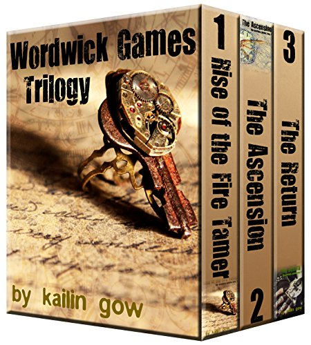 Wordwick Games Trilogy (An Epic Fantasy with SAT Prep Words) Books 1 - 3 (English Edition)
