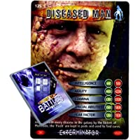 Doctor Who - Single Card : Exterminator 125 Diseased Man Dr Who Battles in Time Super Rare Card
