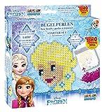 Craze 54322 - Rainbow Beadys Bügelperlen Starter Set Disney Frozen inklusiv Zubehör, 1050 Perlen, Blau