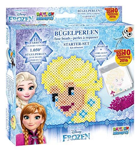 Craze - 54322 - Perles À Repasser Kit 1050 - La Reine Des Neiges - Loisirs Créatifs Disney - Bleu